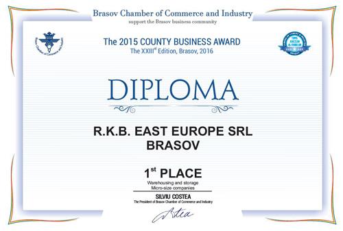 RKB واقع درشرق اروپا رتبه اول را در Brasov دارد.